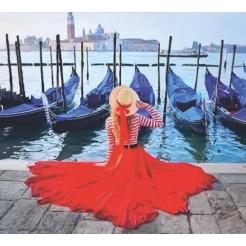 Картина по номерам Rosa Набережная Венеции 35х45 (N00013225)
