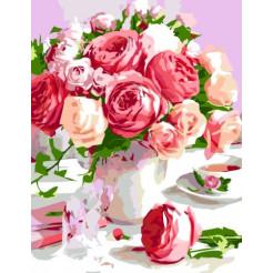 Картина по номерам Rosa  Душистый букет   (N00013435)