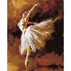 Картина по номерам Rosa Танцовщица выгибается   (N00013110)
