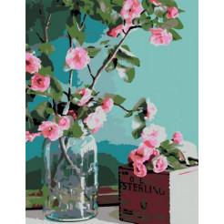 Картина за номерами Rosa Ніжність квітів 45 x 35 (N00013179)
