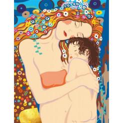 Картина по номерам Rosa Любовь матери  (N00013082)