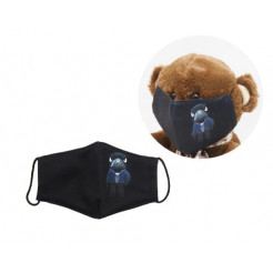 Многоразовая 4-х слойная защитная маска Miravox BRAWL STARS Ворон размер 3, 7-14 лет (mask2)