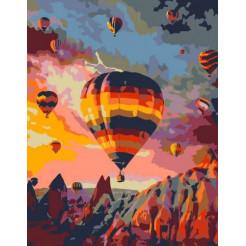 Картина по номерам Rosa Полёт над скалами 35х45 (N00013339)