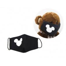 Многоразовая 4-х слойная защитная маска Miravox Микки Маус размер 2, 3-6 лет (mask3)