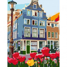 Картина по номерам  Rosa Знаменитый Амстердам ★★☆ (N00013243)