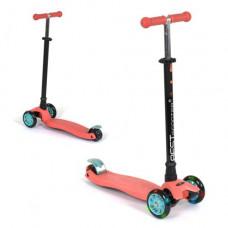 Самокат  Best Scooter Maxi детский (коралловый) (113-23101)