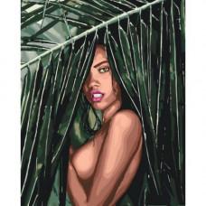 Картина по номерам Идейка Соблазнительная амазонка КНО4507 (50х40)