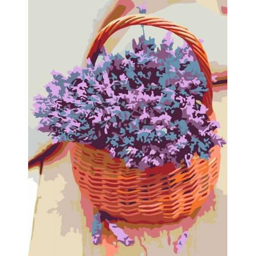 Картина за номерами Rosa Аромат лаванди 45 x 35