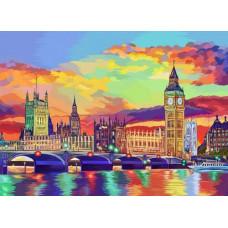 Картина по номерам Красочный Лондон В коробке KpN-01-08U
