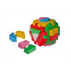 Куб сортер ТехноК Умный малыш Логика 1 (2452)