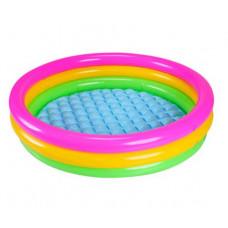 Дитячий надувний басейн Intex Кольори заходу (57422)