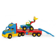 Грузовик Wader Super Truck с трактором 36520
