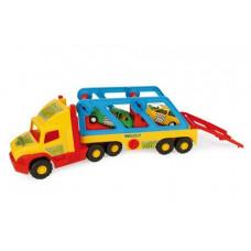 Грузовик  Wader Super Truck с авто-купе 36640