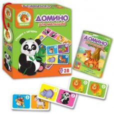 Домино для малышей Vladi Toys Зоопарк (рус) (VT2100-02)