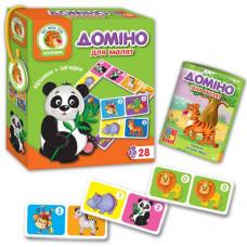 Доміно для малюків Vladi Toys Зоопарк UKR (VT2100-04)