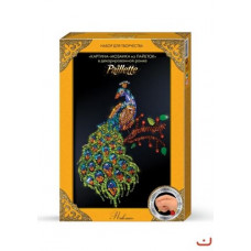 Картина-мозаика из пайеток Dankotoys  Павлин (Пм-01-06)