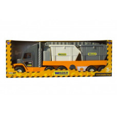 """Super Tech Truck"" со строительными контейнерами 36760"