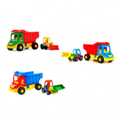 Грузовик с трактором Wader Multi Truck  39219