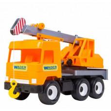 Автокран  Middle truck (оранжевый) Wader 39313
