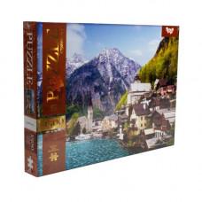 Пазли Dankotoys Альпійське містечко, Австрія 1500 эл C1500-03-06