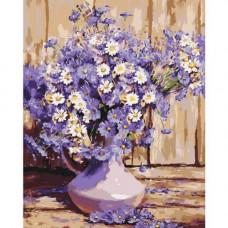 Картина по номерам Идейка Букет полевых цветов 40 x 50 КНО3020