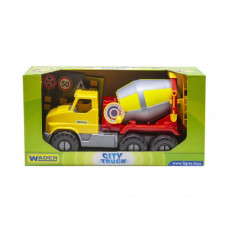 Грузовик Wader City Truck бетономешалка в коробке 39365