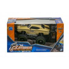 Машина на радиоуправлении Yuandi Climber: Mustang золотистая YD898-MT1960