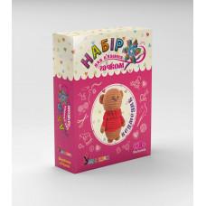 Набір для в'язання Умняшка М'яка іграшка Ведмедик (ВК-003)