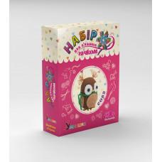 Набір для в'язання Умняшка М'яка іграшка Сова (ВК-002)