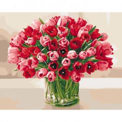 Картина за номерами Ідейка Пекучі тюльпани (КНО3058)