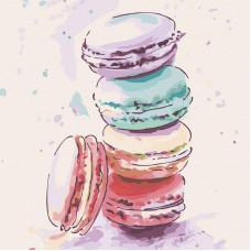 Картина по номерам Идейка Сладкие любимчики 2 30х30 (КНО5586)
