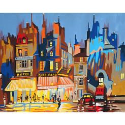Картина за номерами Rosa Париж 35х45 (N00013083)
