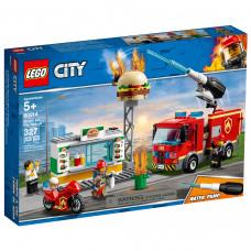 Конструктор Lego City Пожежа в Бургер-барі 60214