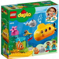 Конструктор Lego Duplo Приключения на подводной лодке 10910