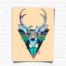 Картина по номерам Rosa Cool Deer 45х35 (N0001364)