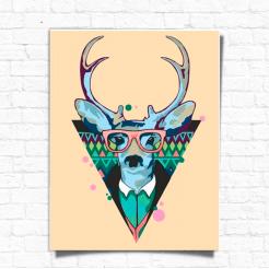 Картина за номерами Rosa Cool Deer 45х35 (N0001364)