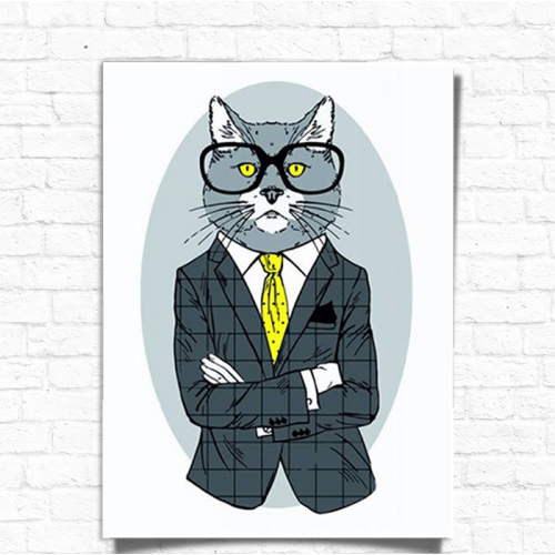 Картина за номерами Rosa Start Fashion Cat N00013266