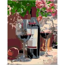 Картина по номерам Rosa Вино для двоих 35х45 (N00013446)
