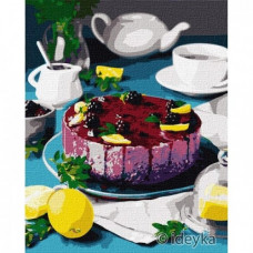 Картина по номерам Идейка Сладкая ежевика 40 х 50 (KHO5614)