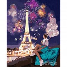 Картина по номерам Идейка Яркий Париж 40 х 50 (KHO4792)