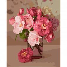 Картина по номерам Идейка Розовое вдохновение 30 x 40 (KHO3082)