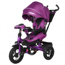 Трехколесный велосипед Tilly Impulse с пультом Фиолетовый (T-386)