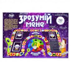 Большая настольная игра Dankotoys Пойми меня (укр) (DTG18u)