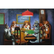 Картина по номерам Brushme Покер Собаки (GX4026)