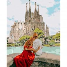Картина по номерам Идейка Романтическая Испания 40 х 50 (KHO4689)