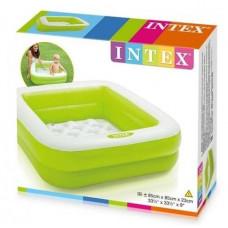 Надувний басейн Intex (салатовий) (57100)