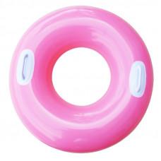 Надувний круг для плавання Intex (рожевий) (59258)